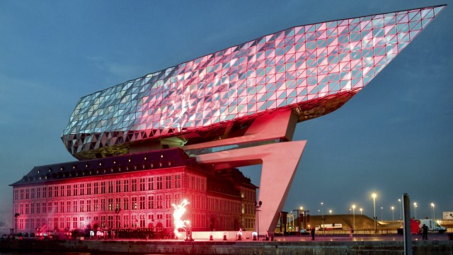 ANTWERP OPENING NEW HARBOUR HOUSE