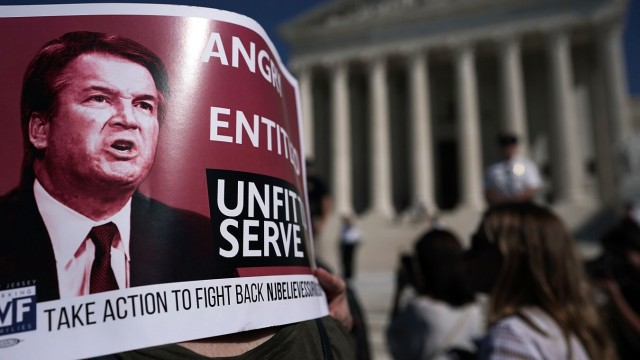 Proteste gegen Brett Kavanaugh in Washington