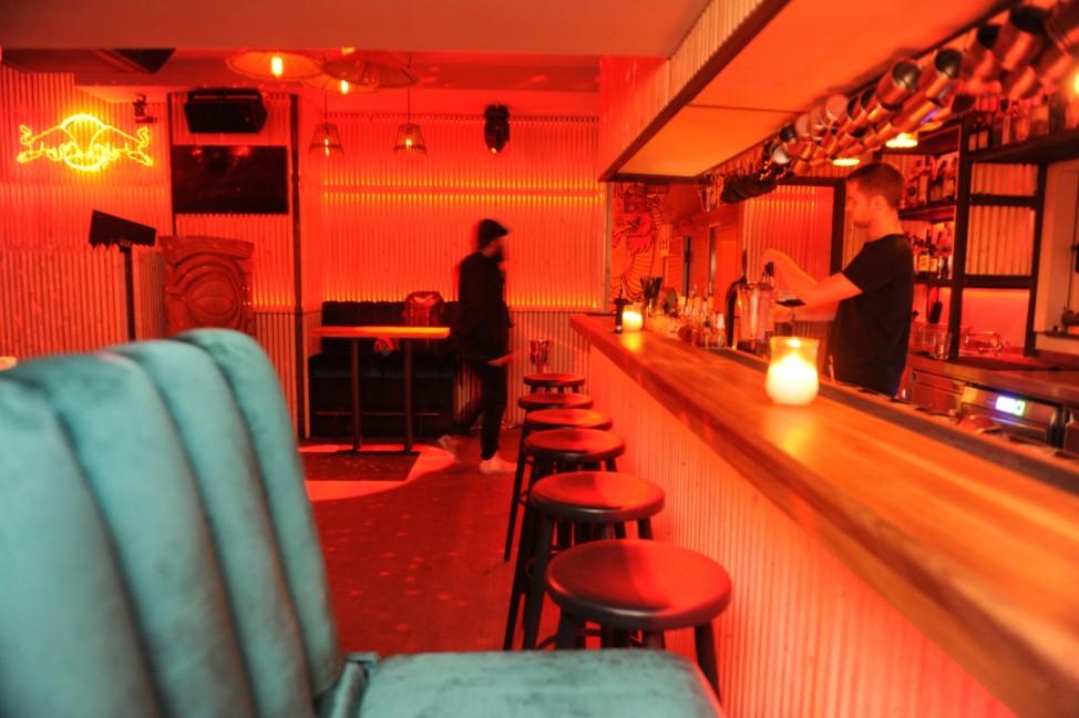 """Crouching Tiger Bar"" in München, 2018"