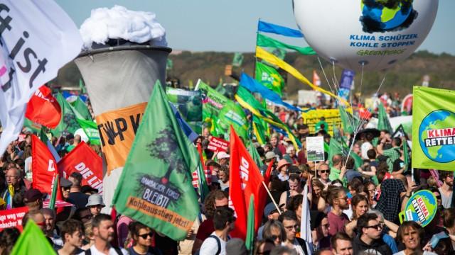 Hambacher Forst - Demonstration