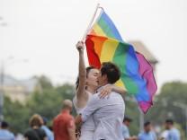 Gay-Pride-Parade in Bukarest