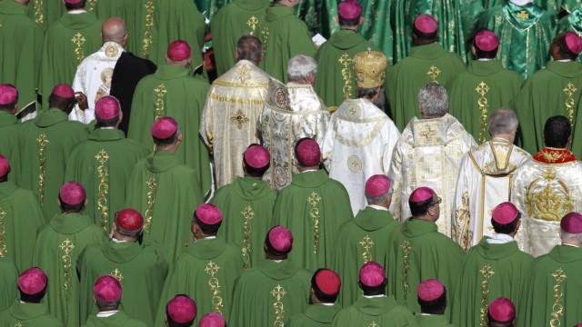 Bischofssitzung im Vatikan