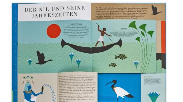 """Buch """"Ägypten"""" von Carole Saturno und Emma Giuliani"""
