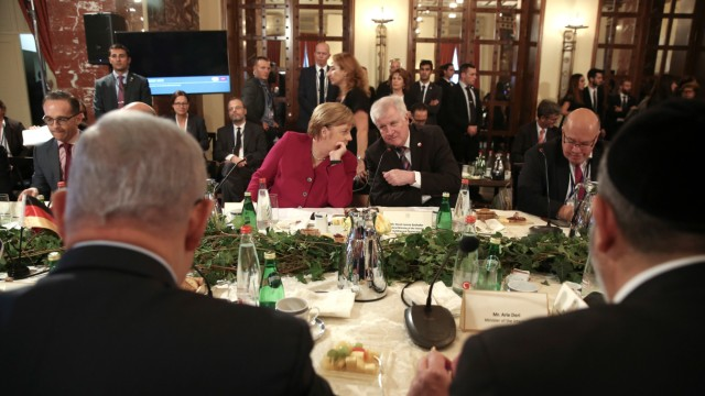 Merkel besucht Israel