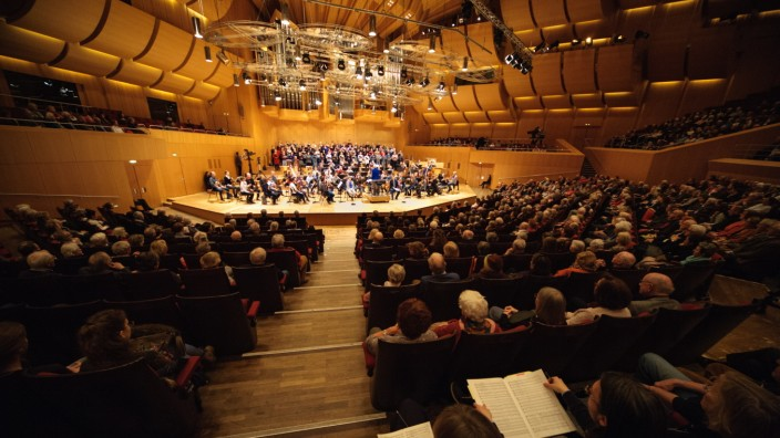 Bernard Haitink dirigiert Generalprobe des BR Symphonierorchesters in München, 2018
