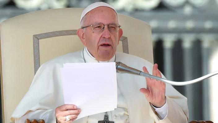 Papst Franziskus 2018 im Vatikan