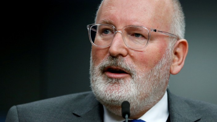 Frans Timmermans, erster Vizepräsident der EU-Kommission