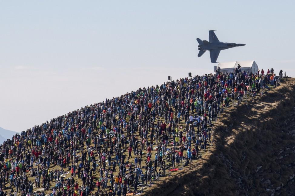 Flugshow der Schweizer Luftwaffe