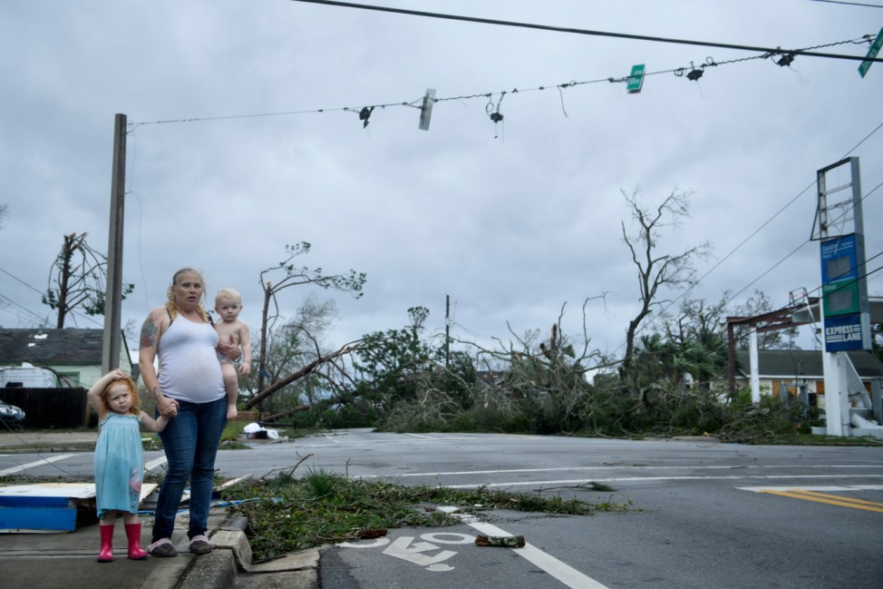 Hurricane Michael batters the southeastern United States after slamming into Florida
