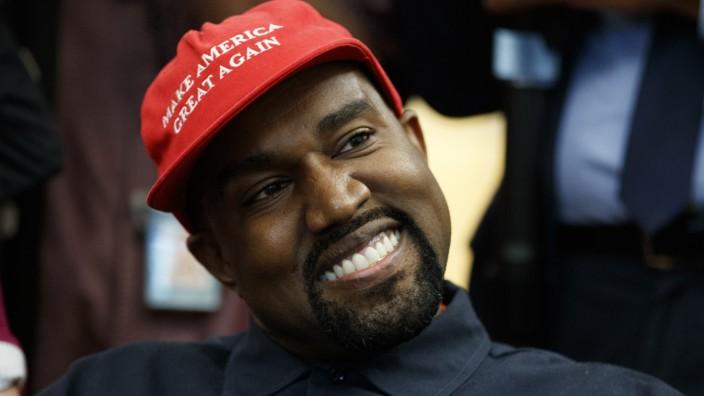 Kanye West im Weißen Haus