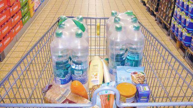 Einkauf bei Aldi