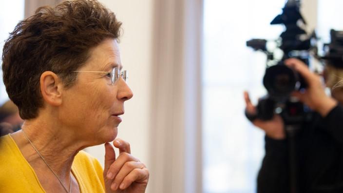 Die Ärztin Kristina Hänel in Gießen