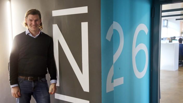 N26 - Gründer Valentin Stalf