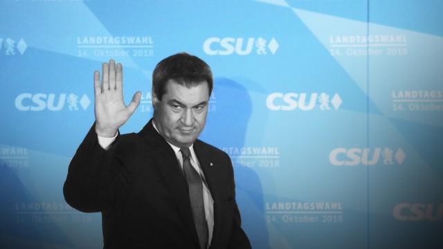 Landtagswahl Bayern - CSU