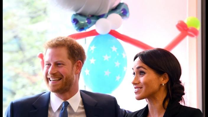 04 09 2018 London United Kingdom Duke and Duchess of Sussex attend WellChild Awards The Duke
