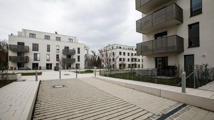 Neubaugebiet Domagkpark in München, 2017