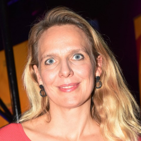 Julika Sandt FDP Kanditatin Muenchen 14 10 18 Das Schloss FDP Wahlparty Bayerische Landtagswahl FDP