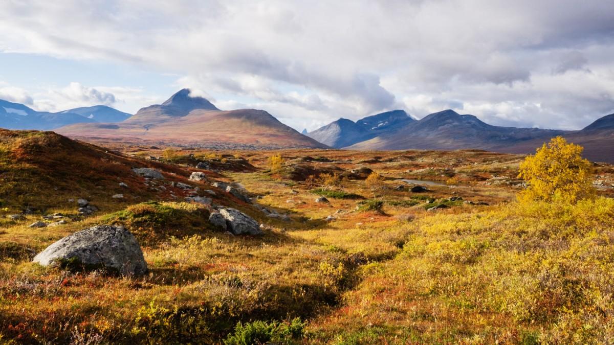 Wandern in Lappland - Im Farbrausch des Nordens