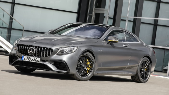 Mercedes-AMG S 63 4MATIC+ Coupé Yellow Night Edition  Mercedes-AMG S 63 4MATIC+ Coupé Yellow Night Edition