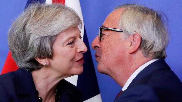 Brexit-Gipfel: Theresa May und Jean-Claude Juncker