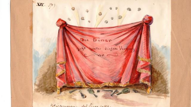 """Ausstellung """"Graf Pocci und der Humor"""""""