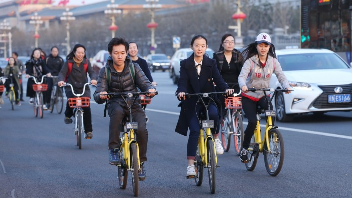 China's bike-sharing users peddled 30 billion km in 2017