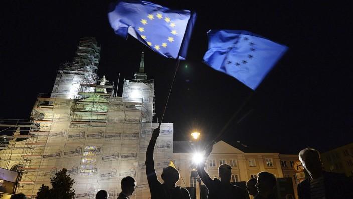 Polen: Proteste gegen Justizreform