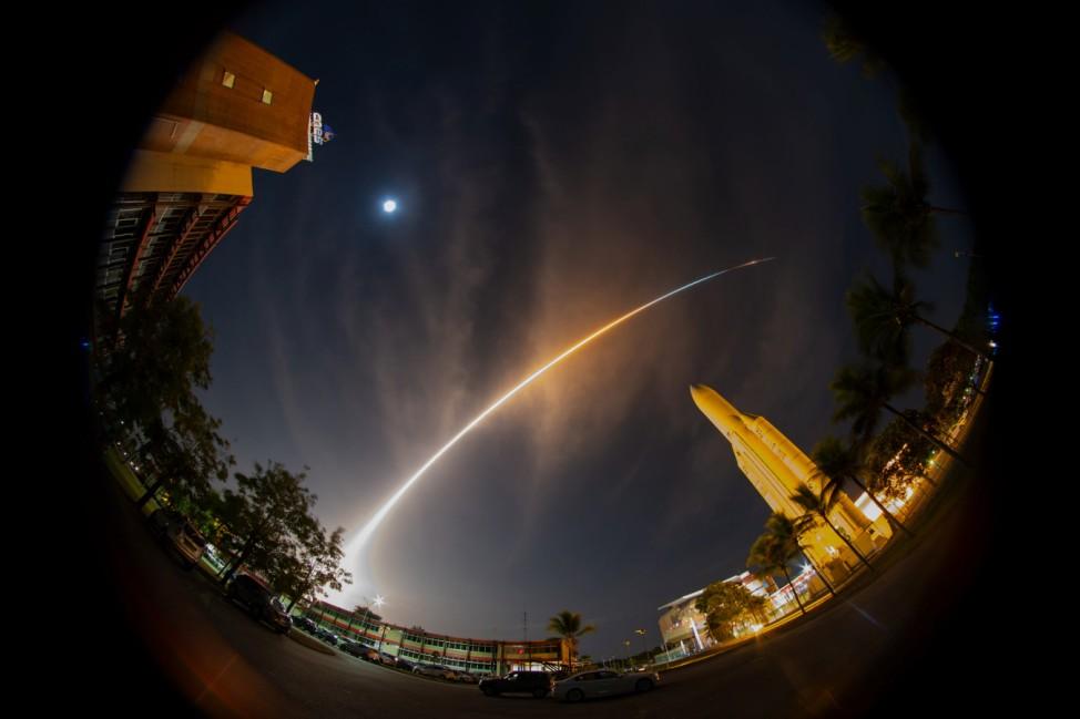 Start Ariane 5 mit Weltraumsonde BepiColombo