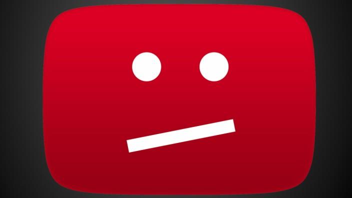 Youtube - Logo für Fehlermeldung