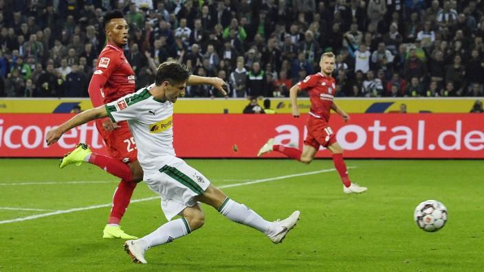 Borussia Mönchengladbach: Jonas Hofmann zum Dritten: Der Gladbacher traf wie er wollte gegen Mainz 05.
