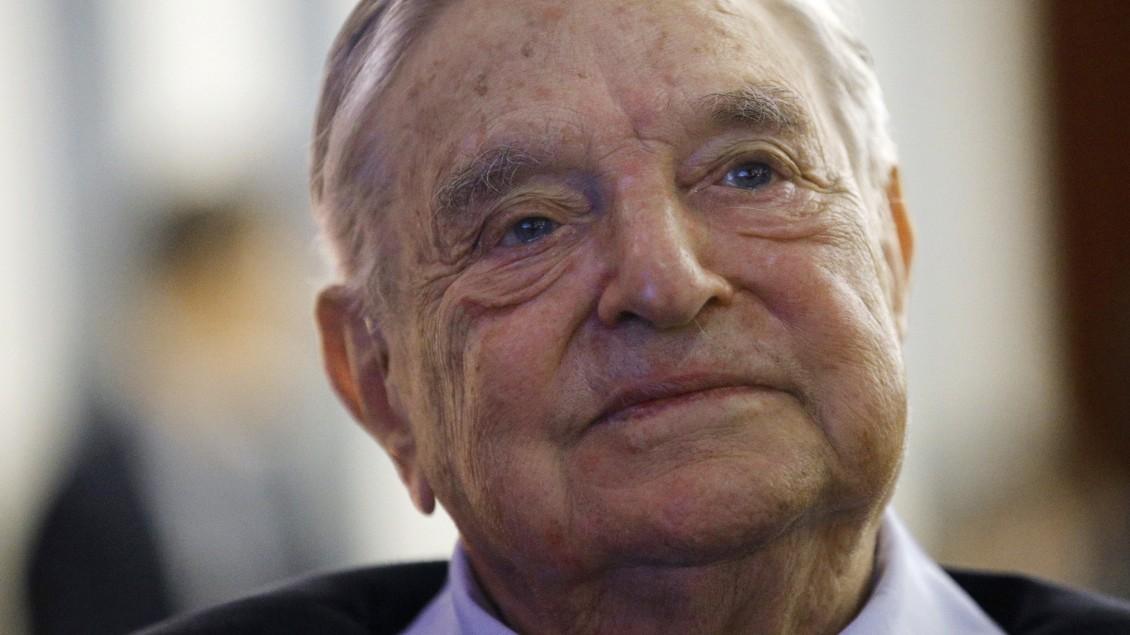 Davos: Investor Soros spendet eine Milliarde Dollar