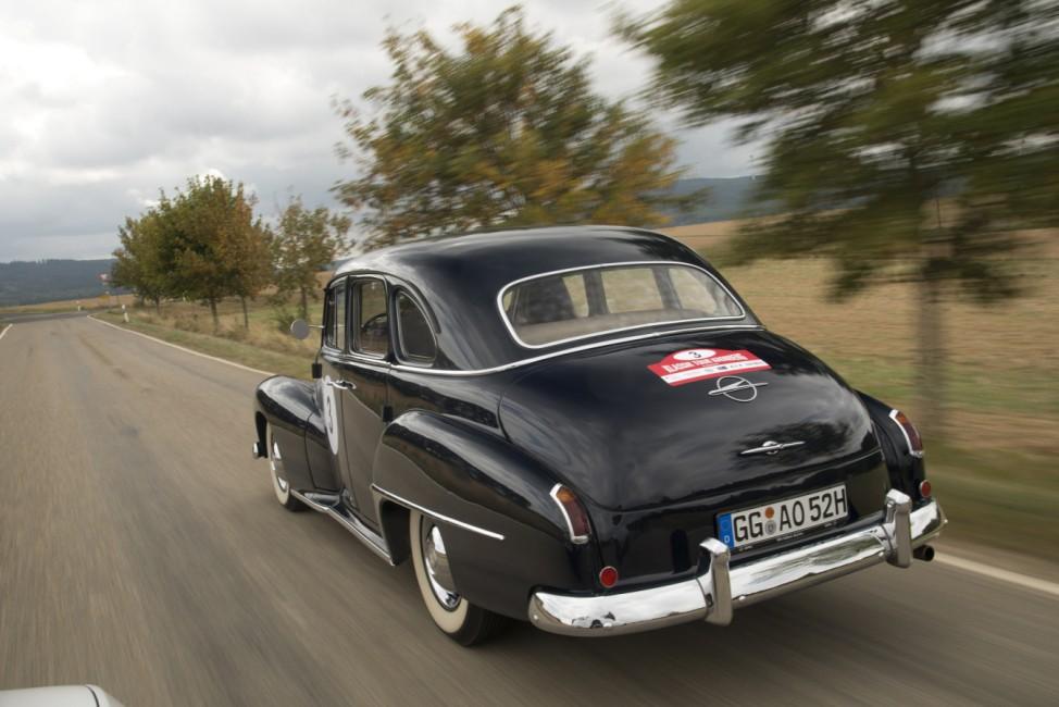 80 Jahre große Fahrt: Der Opel Kapitän feiert Geburtstag