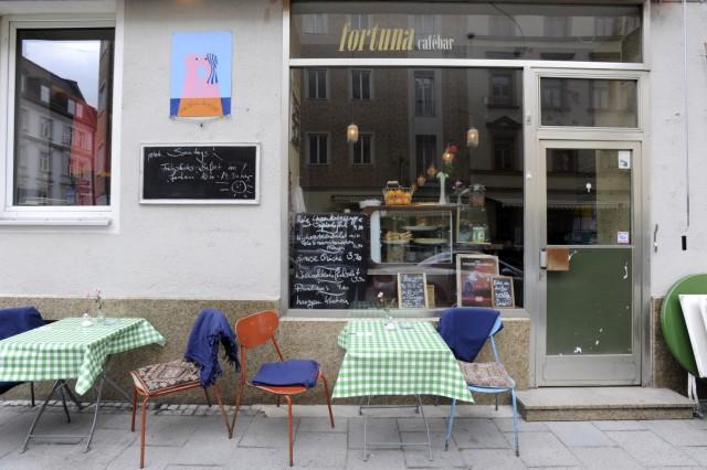 Fortuna Cafebar in München, 2010