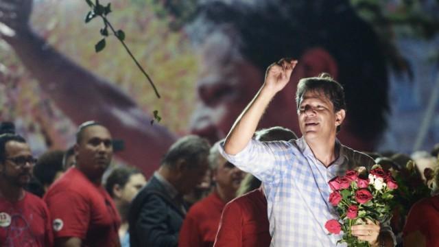 Fernando Haddad in Recife