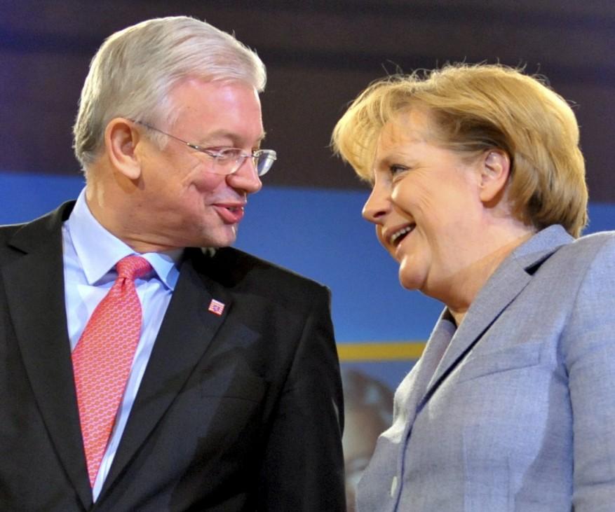 Zeitung: Merkel will Koch als Finanzminister