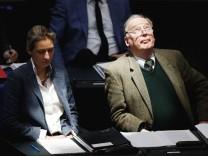 AfD-Fraktionsvorsitzende Weidel und Gauland