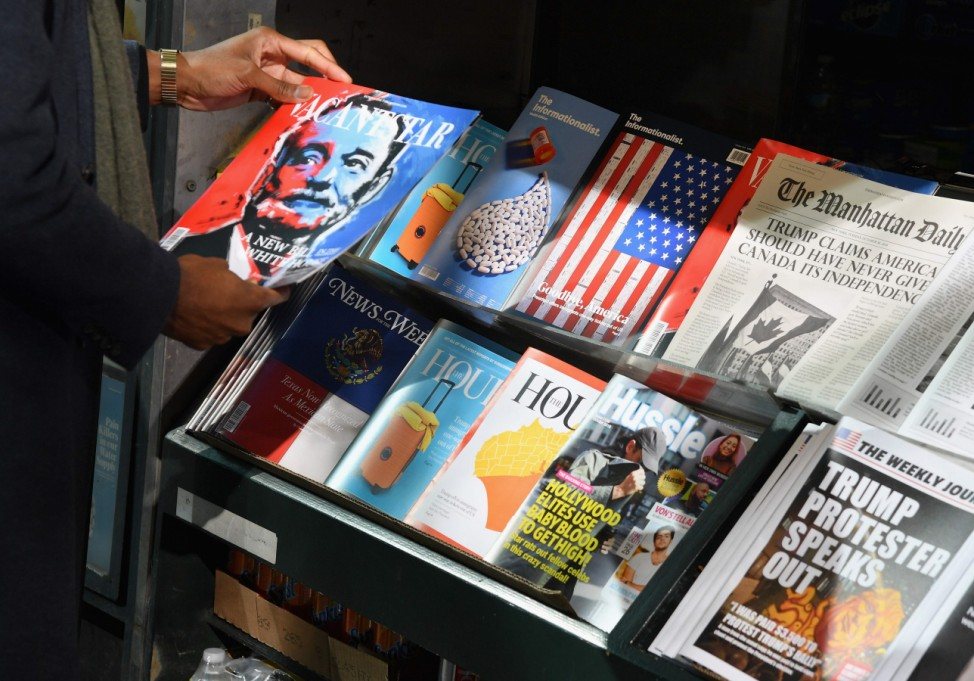 First 'misinformation' news stand