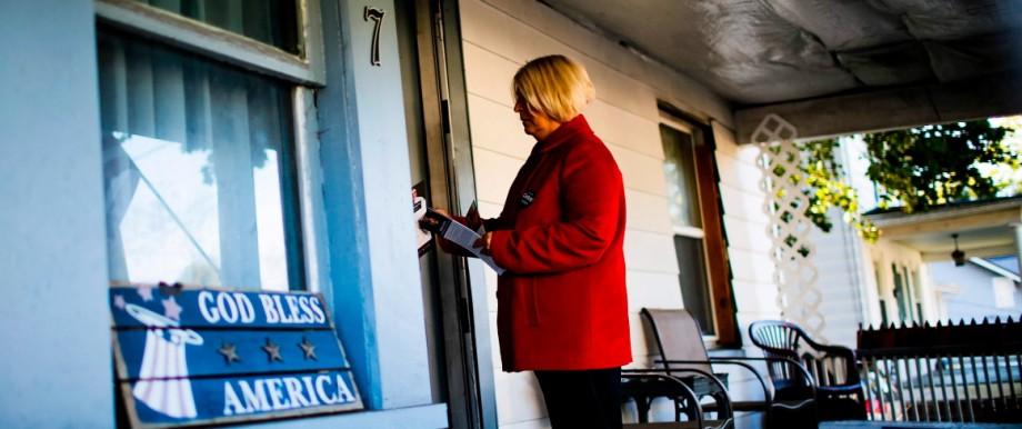 Republicans going door-to-door in Wilkes-Barre, Pa