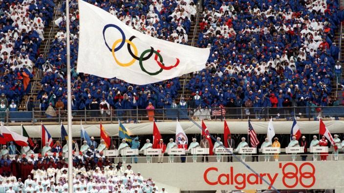 Olympischen Winterspiele 1988 - Eröffnungsfeier