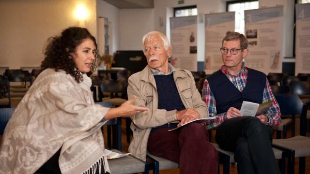 Start am Sonntag: Nirit Sommerfeld, Götz Schindler und Axel Kajnath (von links) haben die Veranstaltungsreihe federführend konzipiert.