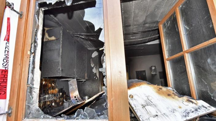 Starnberg Söcking, Haus nach Brand
