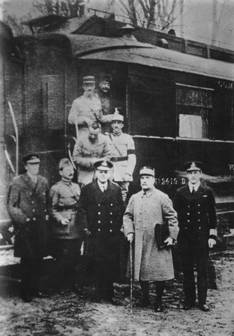 Waffenstillstandsverhandlungen von Compiegne, 1918