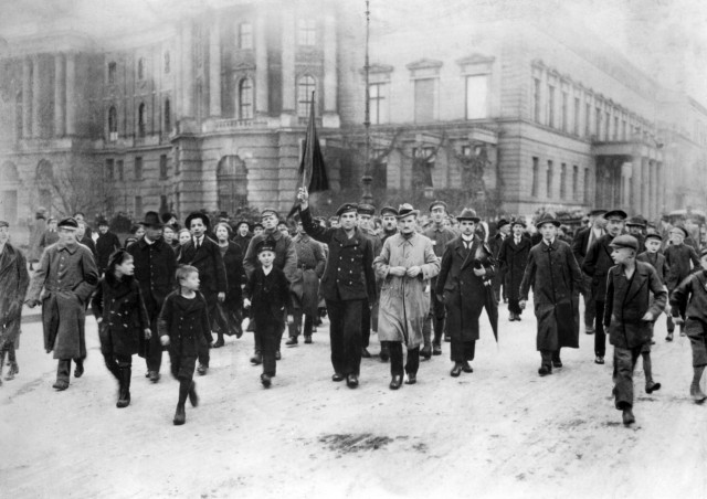 Revolutionäre in Berlin, 1918