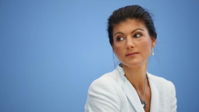 Sahra Wagenknecht, Fraktionschefin der Linken