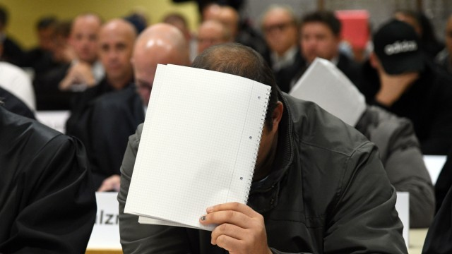 Prozess wegen misshandelter Flüchtlinge in Burbach