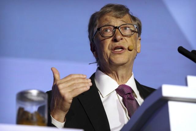 Bill Gates eröffnet Reinvented Toilet Expo