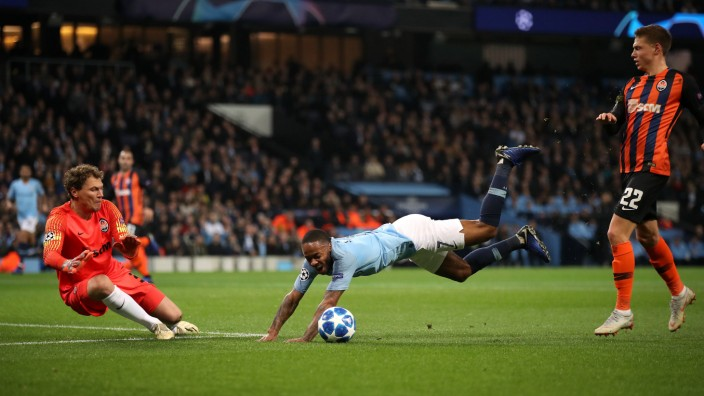 Manchester City v Shakhtar Donetsk UEFA Champions League Group F Etihad Stadium Manchester Ci