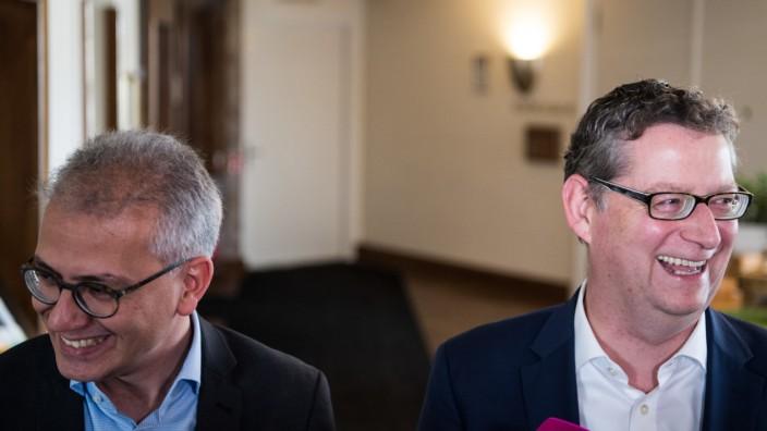 Tarek Al-Wazir und Thorsten Schäfer-Gümbel