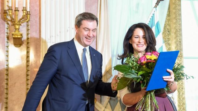 Vereidigung bayerisches Kabinett