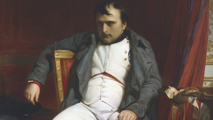 'Napoleon at Fontainebleau During the First Abdication - 31 March 1814', (1845). Artist: Paul Delaroche